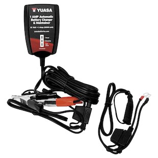 Yuasa 1 Amp Automatic Battery Charger / Maintainer
