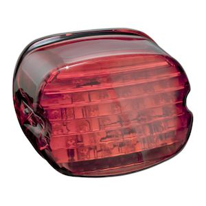 drag specialties led low profile taillight for harley 1999-2018 - revzilla