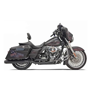 Bassani Down Under Head Pipes For Harley Touring 2009-2014