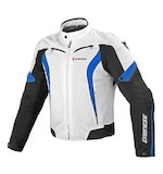 Dainese Crono Textile Jacket White/Black/Blue / 50 [Blemished]