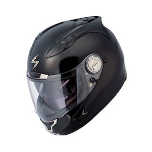 Scorpion EXO-1100 Helmet - Solids Gloss Black / XS [Blemished]