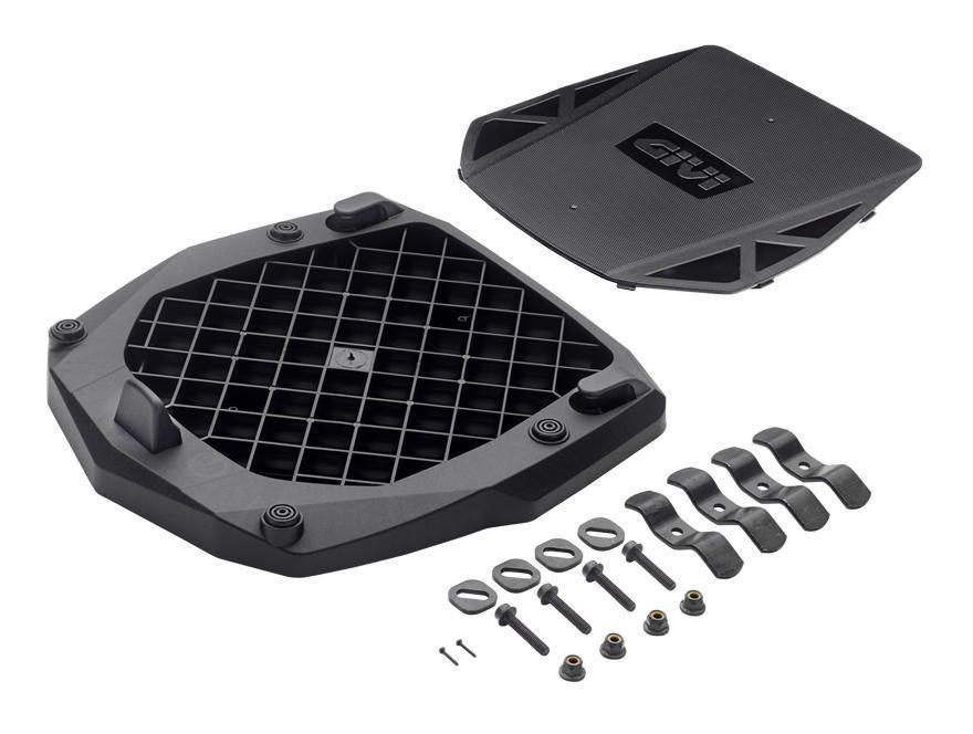 Givi E251 Universal Monokey Top Case Adapter Plate Revzilla
