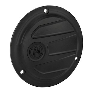 Performance Machine Scallop 3 Hole Derby Cover For Big Twin Harley 1970-2000