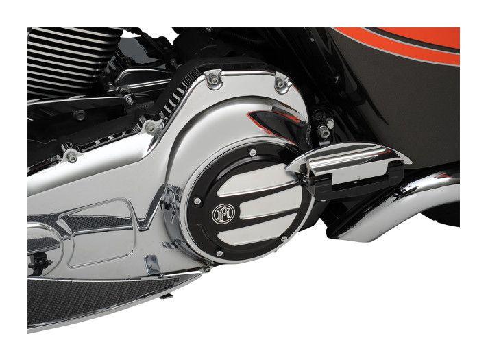 PM Platinum Cut 5-Hole Scallop Derby Cover Harley Davidson Twin Cam 1999-2015
