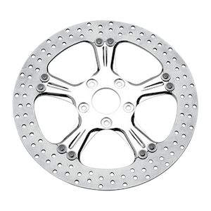 "Performance Machine 11.8"" Rear Brake Rotor For Harley 2008-2018"
