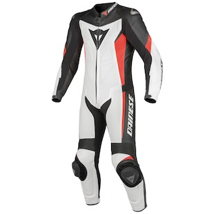 Dainese Crono Perforated Race Suit White/Black/Red / 52 [Demo]