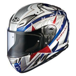 Kabuto Aeroblade 3 Tricolor Helmet
