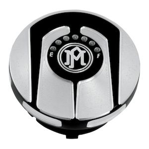 Performance Machine Scallop Gas Cap For Harley 1996-2018