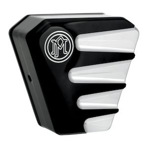 Performance Machine Scallop Horn Cover For Harley 1991-2015