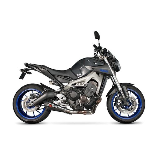 Scorpion serket taper slip on exhaust yamaha fz 09 2014 for Yamaha fz09 parts
