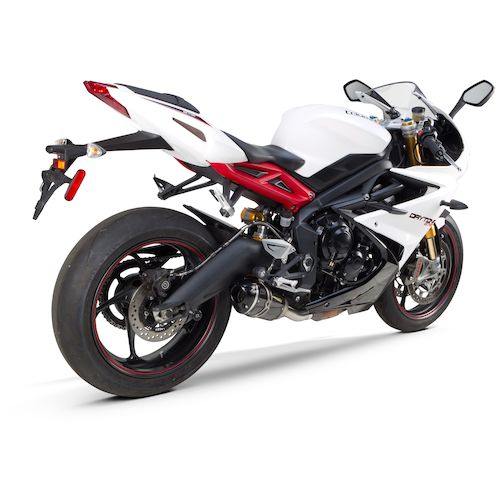 Two Brothers S1r Slip On Exhaust Triumph Daytona 675 R 2013 2015 on triumph carbon fiber