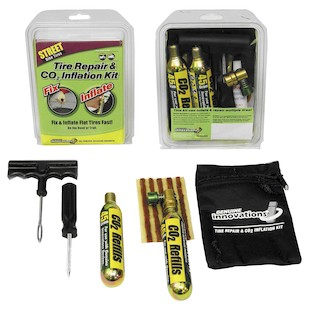 Innovations In Cycling Tire Repair And Inflation Kit Street