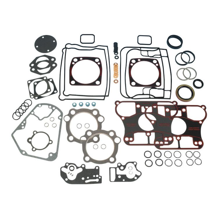 James Engine Gasket Set For Harley Bottom-Breathing Big Twin Evo 1984-1991