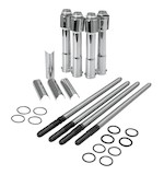 S&S Complete Pushrod And Tube Kit For Harley Sportster 2004-2014