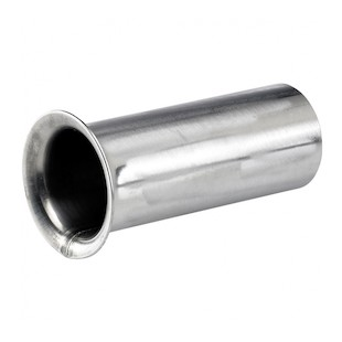 Biltwell Trumpet Raw Steel Exhaust Tip