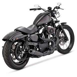 Roland Sands Slant 2-into-1 Exhaust For Harley Sportster 2014