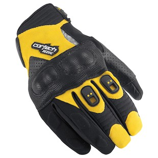 Cortech HDX 2 Gloves Black/Yellow / 2XL [Demo]