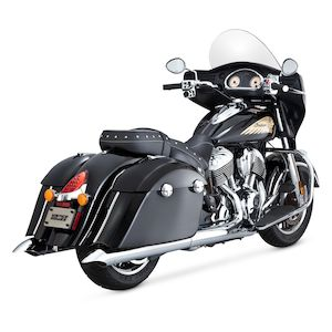 Vance & Hines Turn-Down Slip-On Mufflers For Indian 2014-2018