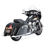 Vance & Hines Turn-Down Slip-On Mufflers For Indian Chieftain 2014-2015