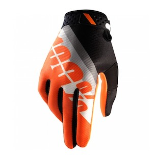 100% Ridefit Slant Gloves