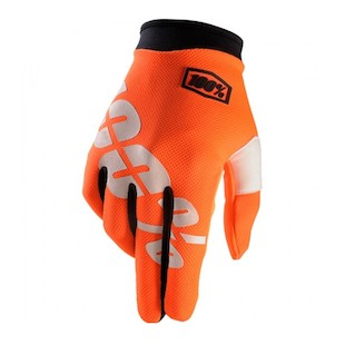 100% Youth iTrack Gloves