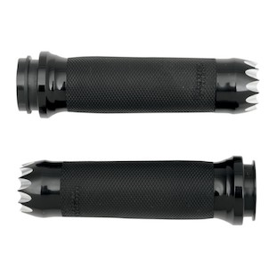 Paul Yaffe Grips For Harley Dual Cable Throttle