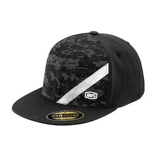 100% Slant Camo Hat