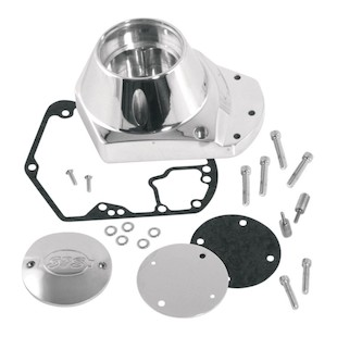 S&S Cam Cover For Harley Bottom-Breathing Big Twin 1973-1992
