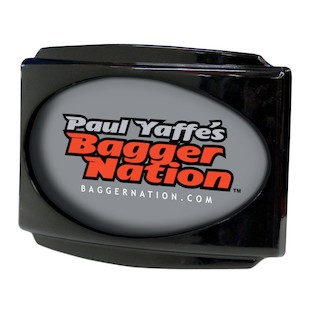 Paul Yaffe Stealth 3 LED License Plate Frame For Harley CVO 2009-2013