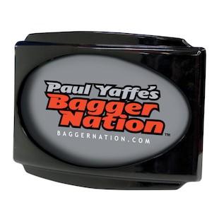 Paul Yaffe Stealth 3 LED License Plate Frame For Harley