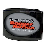 Paul Yaffe Stealth 3 LED License Plate Frame For Harley