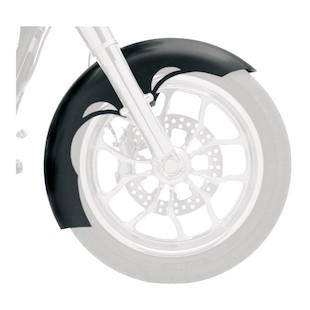 "Klock Werks Tire Hugger Series Front Fender For Harley Touring/Trike 1984-2014 Tude / For 16-18"" Wheel [Previously Installed]"