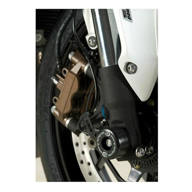 R&G Racing Front Axle Sliders Buell XB9R / XB12R / XB12S