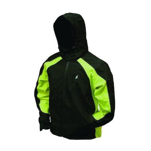 Frogg toggs toadz kikker ii rain jacket revzilla for Motor cycle rain gear