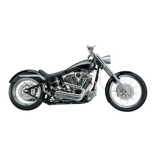 SuperTrapp Exhaust Paul Yaffe Crack Pipes For Harley FX Softail 2007-2011