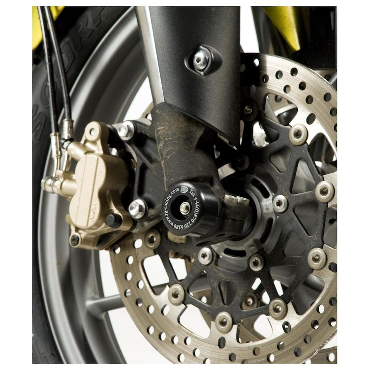 R&G Racing Front Axle Sliders Triumph Tiger 800 / XC / XCX