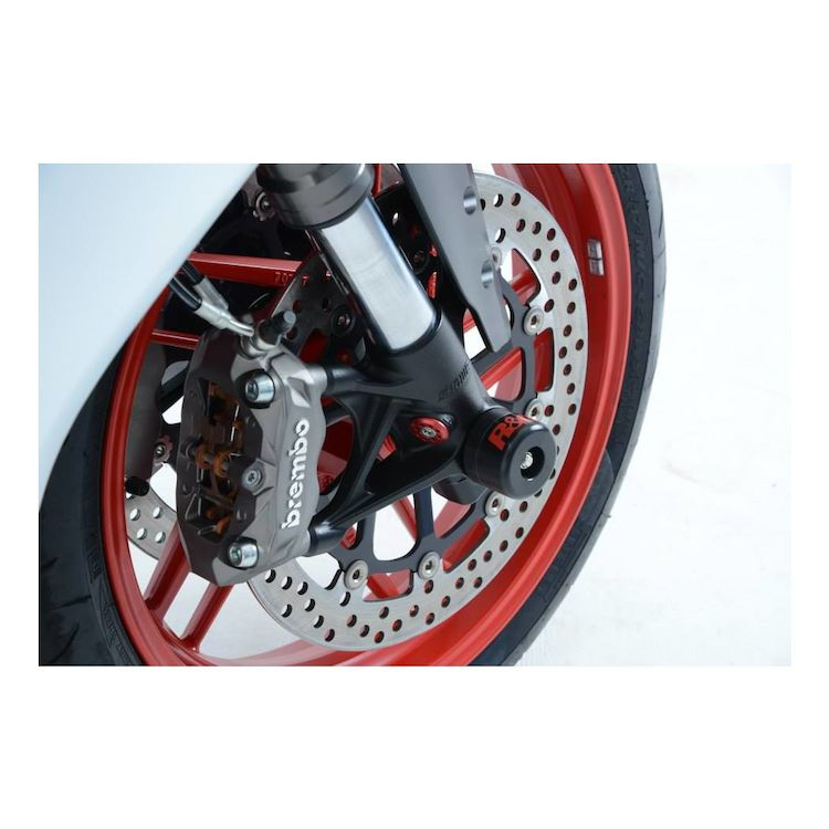 R&G Racing Front Axle Sliders Ducati 899 / 1199 Panigale 2012-2017