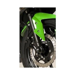 R&G Racing Front Axle Sliders Kawasaki Ninja 300 2013-2015