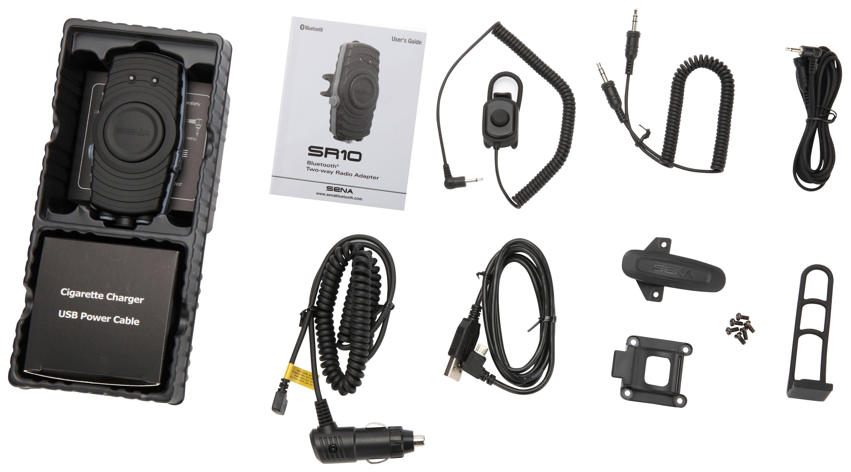 Sena Sr10 Bluetooth Two Way Radio Adapter 10 1990 Off Revzilla Xiaomi Handsfree Headset Original Hensfri Henpri Xiomi