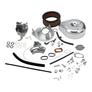 S&S Cycle Super E Carburetor Kit For Harley Big Twin Evo 1993-1999