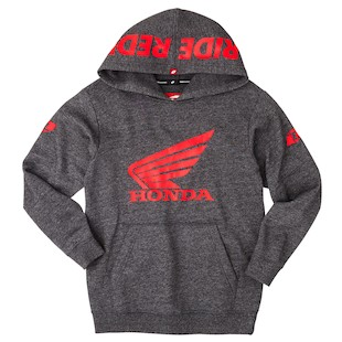 One Industries Youth Honda Ride Red Hoody