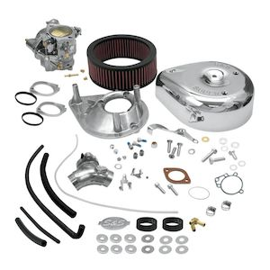 S&S Cycle Super E Carburetor Kit For Harley Big Twin Evo 1984-1992