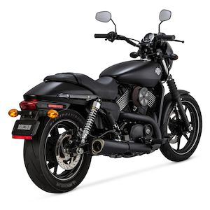 Vance & Hines Competition Series Slip-On Muffler For Harley Street 2015-2018