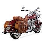 Vance & Hines Turn-Down Slip-On Mufflers For Indian Chief Classic/Vintage 2014-2016