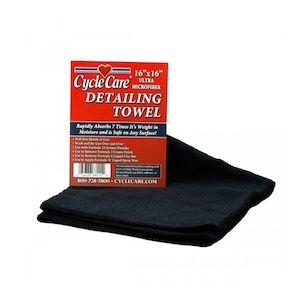 Cycle Care Microfiber Detailing Towel