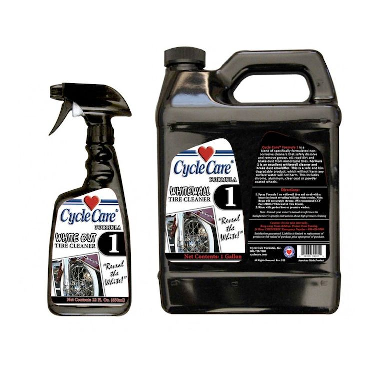 Cycle Care Formula 1 White Wall Tire Cleaner