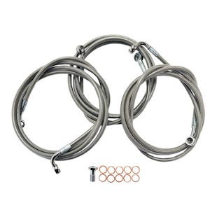 LA Choppers Brake Line Kit For Harley Touring 2014