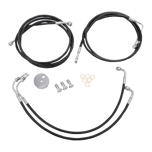 LA Choppers Brake Line Kit For Harley Touring w/ABS 2014-2016