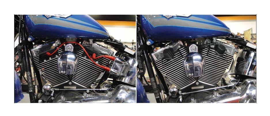 2001-2014 Harley Davidson Touring//FL//FXST//FXD Accel Stealth Super Coil Kit Black