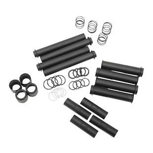 Drag Specialties Pushrod Tube Cover Kit For Harley Twin Cam 1999-2014